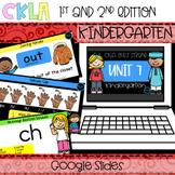 CKLA Skills Strand Unit 7 PPT Kindergarten (Amplify, EngageNY) Distance Learning