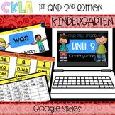 CKLA Skills Strand Unit 8 PPT Kindergarten (Amplify, EngageNY) Distance Learning