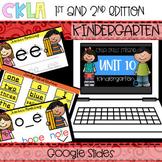 CKLA Skills Strand Unit 10 PPT Kindergarten (Amplify,EngageNY) Distance Learning