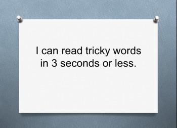 CKLA Skills 2nd Grade Tricky Words Timed PowerPoint