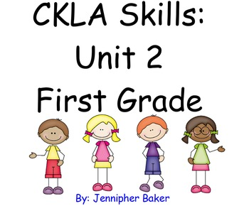 CKLA Skills Unit 2 Lessons 1-19 First Grade