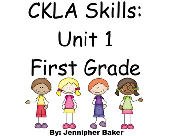 CKLA Skills Unit 1 Lessons 1-32 First Grade