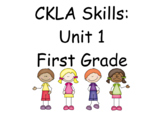 CKLA Skills Unit 1 Lessons 1-32 First Grade Power Point