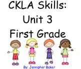 CKLA Skills Unit 3 Lessons 1-19 First Grade