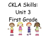 CKLA Skills Unit 3 Lessons 1-19 First Grade Power Point