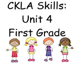 CKLA Skills Unit 4 Lessons 1-28 First Grade Power Point