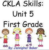 CKLA Skills Unit 5 Lessons 1-22 First Grade