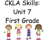 CKLA Skills Unit 7 Lessons 1-21 First Grade