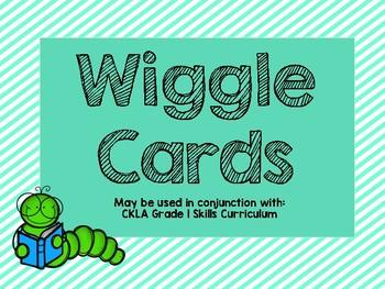 CKLA Skills Wiggle Cards - Grade 1
