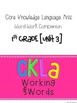 CKLA Skills Word Work Companion: 1st Grade Unit 3