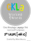 CKLA Skills Word Work Companion: 3rd Grade Unit 10
