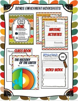 CKLA The History of the Earth, Geology, Grade 1, Listening Journal