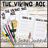 """CKLA Core Knowledge """"The Viking Age"""" Domain 6 Student Booklet"""