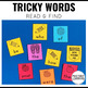 CKLA Tricky Sight Words Read and Find BUNDLE