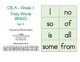 CKLA Tricky Words BINGO Set A