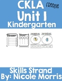 CKLA Unit 1 Kindergarten Skills Strand Freebie