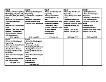 CKLA First Grade Unit 1 Plans