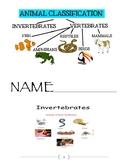 CKLA Unit 2 Animal Classification L/L Resource