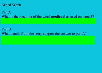 CKLA Unit 2 Lessons 1-4 Middle Ages 4th Grade