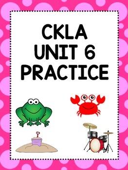 CKLA Unit 6 Activities