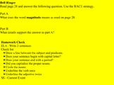 CKLA Unit 6 Geology 4th Grade Lessons 12-14