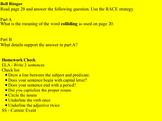 CKLA Unit 6 Geology 4th Grade Lessons 9-12