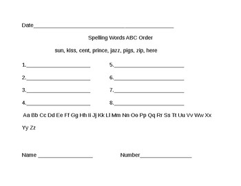CKLA Unit 6 Lesson 6-10 Spelling Words