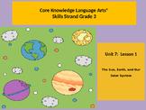 CKLA Unit 7 Lesson 1