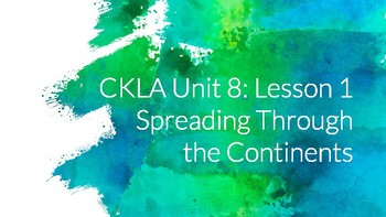 CKLA Unit 8: Native Americans, All Lessons