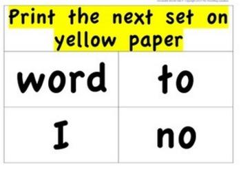 CKLA Kindergarten Unit 9 Decodable Words Flash Cards