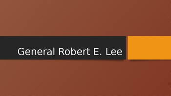CKLA Unit US Civil War Lesson 7 Robert E Lee