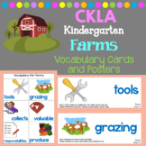 CKLA Listening and Learning Vocabulary Cards: Domain Farms