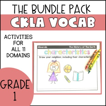 CKLA Vocabulary (Growing) Bundle Pack