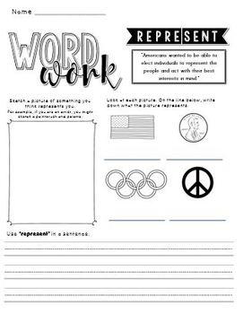 CKLA War of 1812 Word Work Packet
