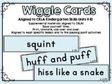 CKLA Skills Wiggle Cards Kindergarten Units 4-10