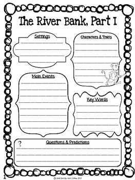 The Wind in the Willows CKLA Note Taking Journal
