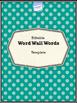 CKLA Word Wall Stories Unit