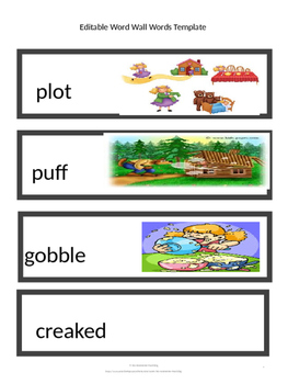 CKLA Word Wall Stories Unit