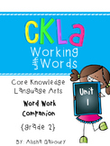 CKLA Skills Word Work Companion:2nd Grade Unit 1