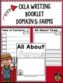 CKLA Kindergarten Writing Booklet Domain 5 Farms