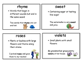 CKLA domain 1 vocabulary cards Kindergarten