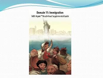 CKLA domain 11 lesson 5 Immigration