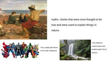 CKLA- second grade Greek Myths unit