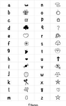 CKSchoolPics Free Doodle Font for Personal & Classroom Use
