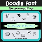 CKSchoolPics Free Doodle Font for Commercial Use