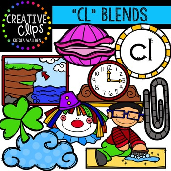CL Blends {Creative Clips Digital Clipart}