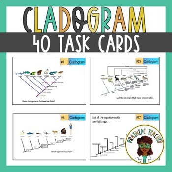 CLADOGRAM TASK CARDS