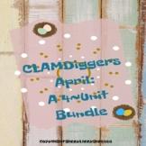 CLAMDIGGERS April: A Four-Unit Bundle