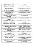 CLASIFICAR TIPOS DE ORACIONES/ CLASSIFY DIFFERENT TYPES OF