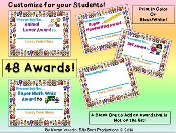 CLASS AWARDS Super Kids Pack